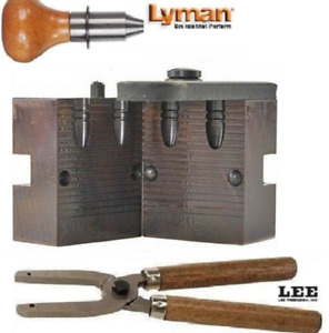 Lyman 2-Cavity FN GC Mold 45 Cal 325 Grain with Lee Handles 2660651+90005 New!