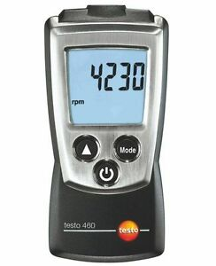 Testo 460 Rotate Speed Measuring Instrument Tester Digital Rpm Tachometer Usa