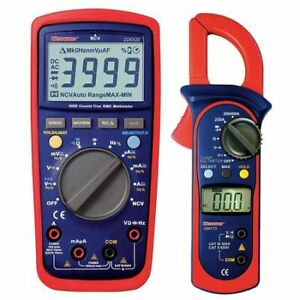Westward 22xx28 Digital Multimeter And Clamp On Ammeter