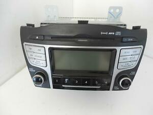 2011 Hyundai Tucson Radio W o Navigation Receiver Am fm cd mp3 W o Bluetooth