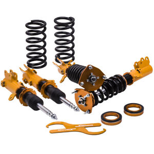 Coilovers Kit For Hyundai Tiburon Base Coupe 2 door 2003 2004 Adj Height Shocks
