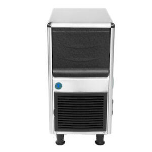 15 In Heavy Duty Under Counter Air Cooled Bullet Ice Maker 80 Lb
