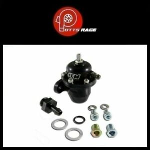 Aem 25 300bk Fits Acura Honda Adjustable Fuel Pressure Regulator Black