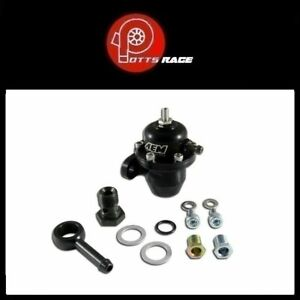 Aem 25 303bk Fits Acura Honda Adjustable Fuel Pressure Regulator Black