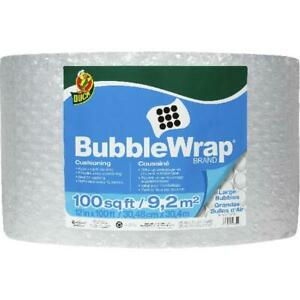 Large Bubble Wrap Cushioning 12 In X 100 Ft Clear