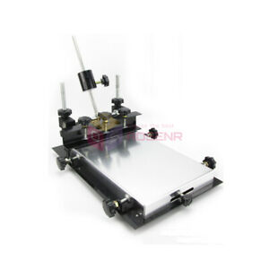Manual Solder Paste Printer pcb Smt Stencil Printer S Size 300x240mm