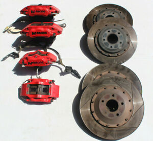 03 07 Infiniti G35 350z Coupe Front Rear Ap Racing Brake Rotors Calipers Kit
