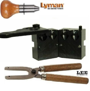 Lyman 2 Cavity Mold RFL 45 Cal 145 gr. with Lee Handles 2660130+90005 New!