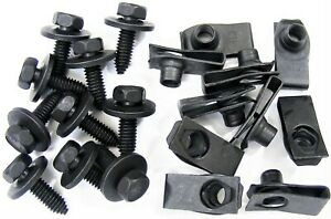 Ford Body Bolts U Nut Clips 5 16 X 1 27 32 Center To Edge 20 Pcs 373