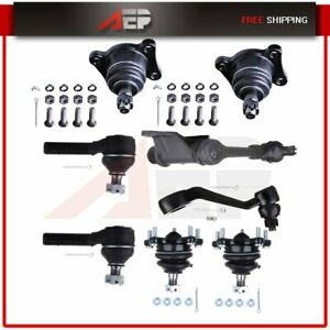 8 New Pc Ball Joint Idler Arm Outer Tie Rod End Pitman Arm For Toyota Pickup