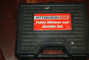 Pittsburgh Automotive Pulley Remover Installer Set 63068