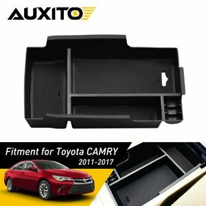 Fit For Toyota Camry 2011 2017 Center Console Armrest Storage Box Organizer Tray