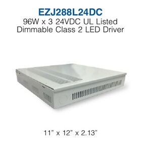 Ezj288l24dc 96w X 3 24vdc Ul Listed Dimmable Class 2 Led Driver 3 Channel