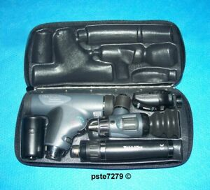 Welch Allyn 11820 Panoptic Lithium Ion Set With 11720 Coaxial 23820 Macroview