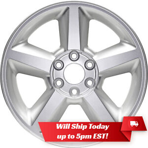 New 20 Painted Silver Alloy Wheel Rim For 2007 2013 Chevrolet Tahoe Suburban