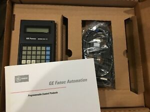 Ge fanuc Ic693prg300e Hand Held Programmer Cable Book New Sealed Box