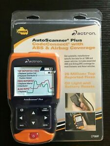 Actron Cp9680 Autoscanner Plus Codeconnect With Abs Airbag