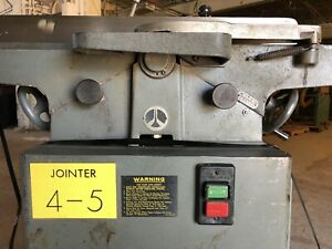 Delta Unisaw Rockwell 8 Jointer 37 315 Long Bed Edge Joiner Usa Made