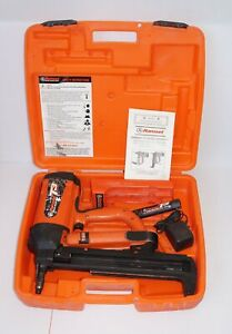 Ramset T3 Cordless Gas Actuated Fastener Tool W 1 Batteries And Charger