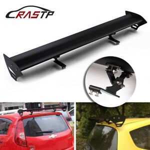 110cm No Perforation Auto Car Hatchback Spoiler Gt Style Rear Trunk Wing Spoiler