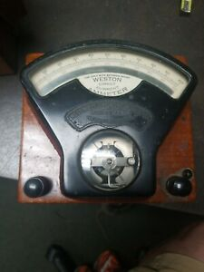 Weston Electrical Instrument Company Thomas Houston Electric Model 1 Voltmeter