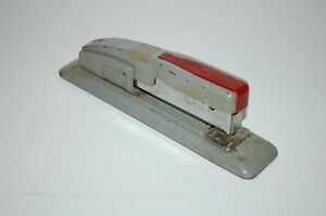 Vintage Swingline 400 S Red Stapler Diesel Punk Mcm Industrial Office Factory