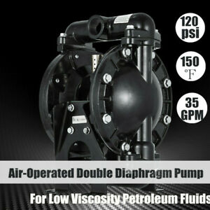 Air operated Double Diaphragm Pump 35 Gpm Air operated 1inch Outlet 1inch Inlet
