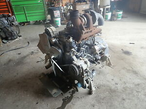 John Deere 4045tf150 Turbo Diesel Engine Runs Exc Video 4045t 4 5 4045