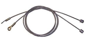1984 1986 Dodge 600 Chrysler Lebaron Convertible Top Side Tension Cables Pair