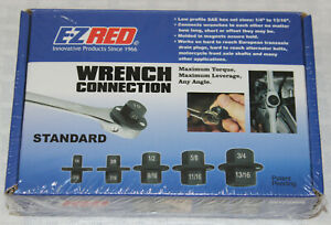E Z Red Wrench Connection Hex Set Maximum Torque Maximum Leverage Any Angle