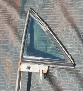 1968 72 El Camino R H Vent Wing Window Frames With Tinted Glass A Body Sedan