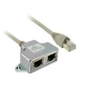 Schneider Altivar Modbus T Tap off Cable 1 Meter Rj45 Male female Vw3a8306tf10