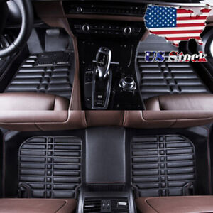 All weather Car Floor Mat For Toyota Camry 2007 2011 Front Rear Waterproof Mat