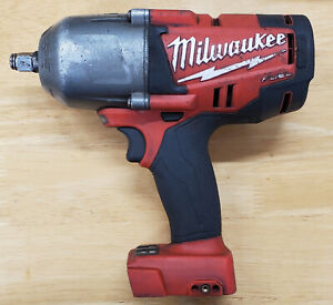 Milwaukee Fuel 1 2 Inch Impact Wrench Used Condition