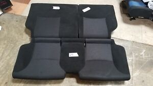 Jdm 2002 2003 2004 2005 Honda Civic Type R Ep3 Black Rear Seats Ctr Bench Seat