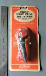 K D Tools 124 Heavy Duty Remote Control Start Starter Switch