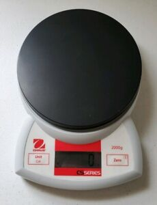 Ohaus 72212664 Cs2000 Compact Scale 2000g Capacity And 1g Readability