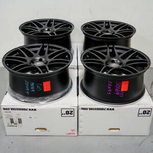 20 Forgestar F14 Black Concave Forged Wheels Rims Fits Dodge Charger Challenger
