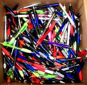 Big Bulk Lot Of 201 New Retractable Ballpoint Pens