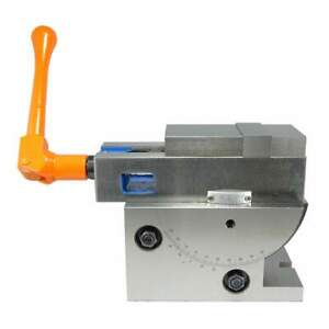 3 Jaw Width Simple Universal Angle Milling Machine Vise With Swivel Base