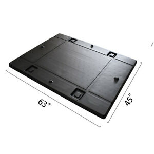 63 X 45 X 1 97 Plastic Pallet Pack Container Lid