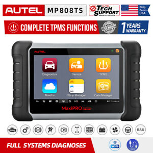Autel Mp808ts Mp808 Auto Obd2 Scanner Tablet All Systems Diagnostic Scan Tool Us