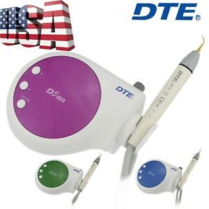 Woodpecker Dte Dental Ultrasonic Scaler Handpiece Tips 110v D5 Led Hd 7l Satelec