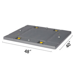 48 X 40 X 1 97 Plastic Pallet Pack Container Lid