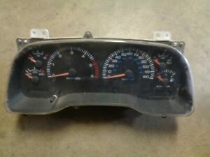 1997 Dodge Dakota Mt Instrument Cluster Speedometer W tach 56009103 177k