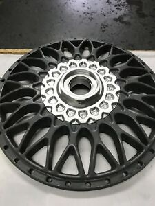 Bbs Style 5 Hexes And Waffle Billet Kit