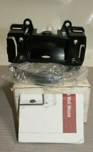 Videolarm Apm6b Aluminum Pole wall Mount Adapter With Straps Black 19 28