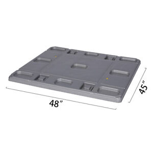 48 X 45 X 1 97 Plastic Pallet Pack Container Lid