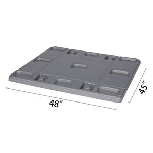 Toolots 48 X 45 X 1 97 Plastic Pallet Pack Container Lid