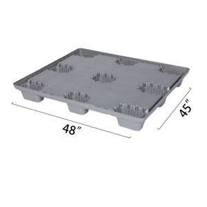 48 X 45 X 5 9 Plastic Pallet Pack Container Base